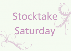 Stocktake Saturday 1
