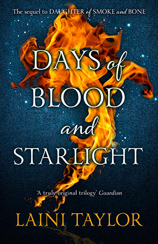 Audiobook Review: Days of Blood and Starlight by Laini Taylor