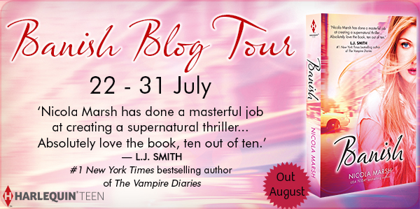 Blog Tour: Banish - Guest Post