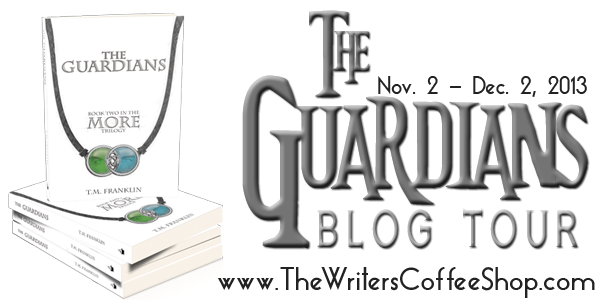 Blog Tour: The Guardians by T.M. Franklin - Guest Post