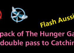 Giveaway: The Hunger Games trilogy and Catching Fire tickets