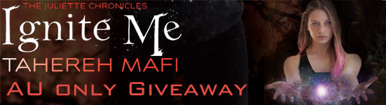 Blog Tour: Ignite Me by Tahereh Mafi – Giveaway