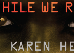 Blog Tour: While We Run by Karen Healey – Interview