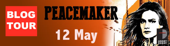 Blog Tour: Peacemaker by Marianne de Pierres – Interview