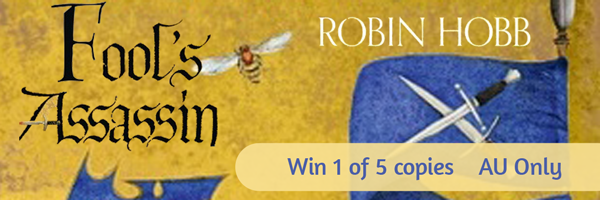 5 copies of Fool's Assassin by Robin Hobb