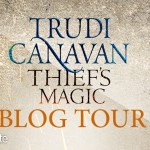 Thief's Magic Trudi Canavan Tour Banner